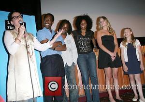 Lori Petty, Clarke Peters, David Pompeii, Tyla Abercrumbie, Jennifer Lawrence and Chloe Moretz Screening of 'The Poker House' at the...