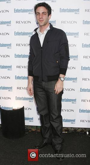 B.J. Novak Entertainment Weekly's 6th Annual Pre-Emmy Celebration honouring The 2008 Emmy Nominees at The Beverly Hills Post Office Los...
