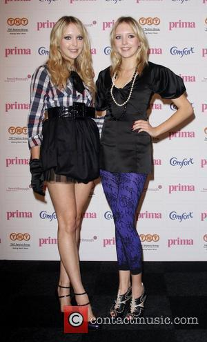 Samantha Marchant and Amanda Marchant,  2008 Comfort Prima High Street Fashion Awards - Arrivals  London, England - 11.09.08