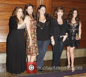 Kathy Najimy, Camryn Manheim, Jackie Collins and Mimi Rogers