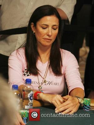 Mimi Rogers The Queen of Hearts Team participates in the 2008 WSOP Ladies Event at the Rio Hotel and Casino...