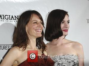Rosemarie DeWitt and Anne Hathaway The Premiere of 'Rachel Getting Married' held at the Writer's Guild Theatre - Arrivals Beverly...