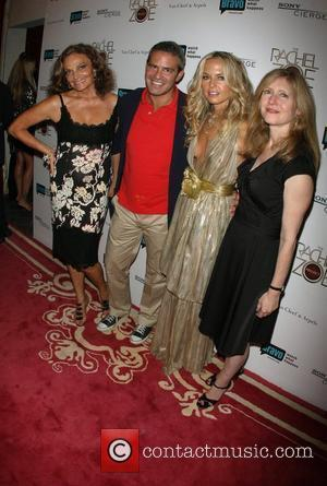 Diane Von Furstenberg, Andy Cohen, Rachel Zoe and Frances Berwick