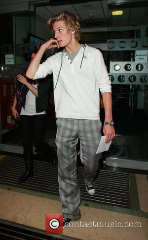 Alex Pettyfer leaving Radio One London, England - 03.08.08