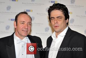 Benicio Del Toro, Kevin Spacey and Hampton Court Palace