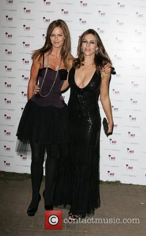 Elizabeth Hurley and Tana Ramsay