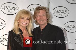 Loni Anderson and Nigel Lythgoe