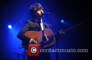 Alex Turner & Miles Kane of The Last Shadow Puppets performing at the Reading Festival 2008 - Day 3 Berkshire,...