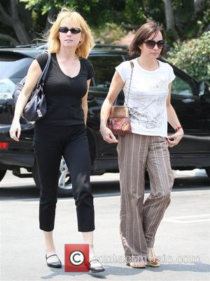Rebecca De Mornay 'Risky Business' star out and about with a friend in West Hollywood Los Angeles, California - 25.06.08