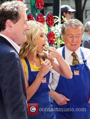 Piers Morgan and Kelly Ripa