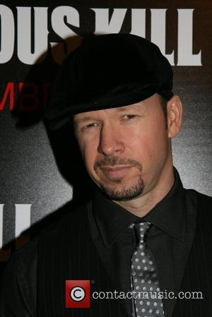 Donnie Wahlberg New York Premiere of 'The Righteous Kill' at The Ziegfeld Theatre - Arrivals New York City, USA -...