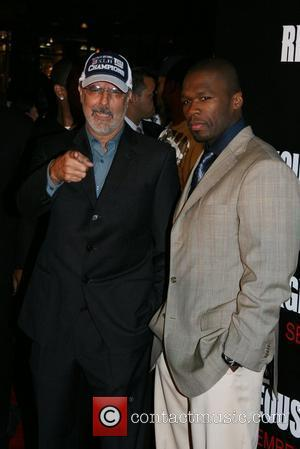 Jon Avnet and 50 Cent aka Curtis Jackson New York Premiere of 'The Righteous Kill' at The Ziegfeld Theatre -...