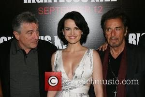 Robert De Niro and Carla Gugino