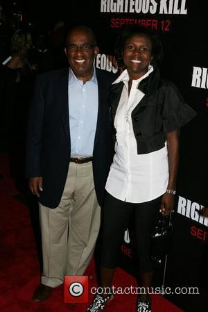 Al Roker and Deborah Roberts New York Premiere of 'Righteous Kill' at The Ziegfeld Theatre - Arrivals New York City,...