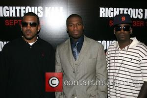 Lloyd Banks, 50 Cent and Curtis Jackson