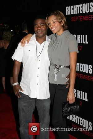 Tracy Morgan and his wife Sabina