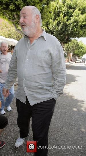 Rob Reiner Director leaving the Ivy restaurant in West Hollywood Los Angeles, California - 25.07.08