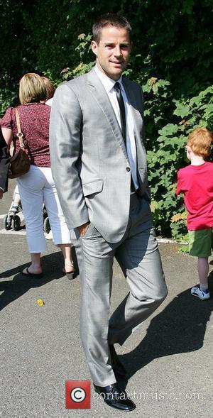 Jamie Redknapp  Wedding of Robbie Keane and Claudine Palmer Killiney, Ireland - 07.06.08