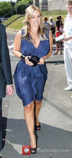 Louise Redknapp  Wedding of Robbie Keane and Claudine Palmer Killiney, Ireland - 07.06.08