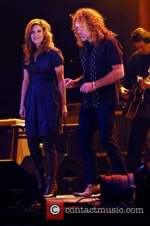 Alison Krauss and Robert Plant perform live in concert WaMu Theater at Madison Square Garden New York City, USA -...