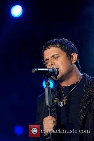 Alejandro Sanz performing live at Rock in Rio Lisboa 2008  Lisbon, Portugal - 31.05.08