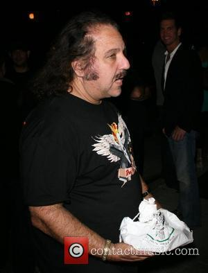 Ron Jeremy  leaving the Foxtail nightclub with a young lady. West Hollywood , California - 29.05.08
