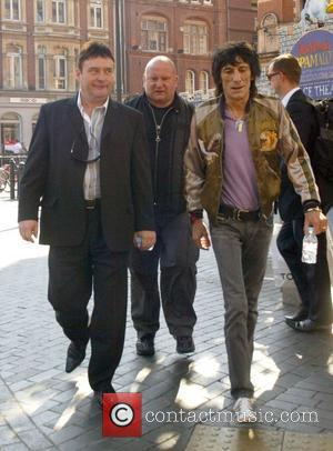 Ronnie Wood and Jimmy White