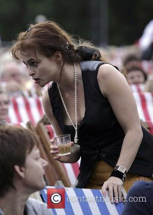 Helena Bonham Carter at the Rufus Wainwright gig at Kenwood House. London, England - 05.07.08