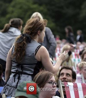 Helena Bonham Carter and Clive Owen at the Rufus Wainwright gig at Kenwood House. London, England - 05.07.08