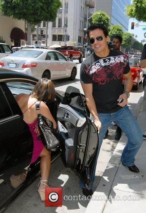 Cheryl Burke and Antonio Sabato, Jr. arriving at Antonio Sabato, Jr.'s restaurant Prego in Beverly Hills Los Angeles, California -...