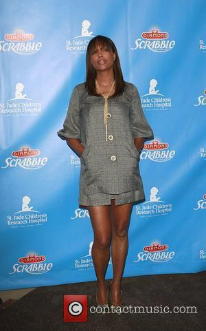 Aisha Tyler Scrabble Under The Stars to benefit St Jude Research Hospital Goldstein Estate in Beverly Hills Los Angeles, California...