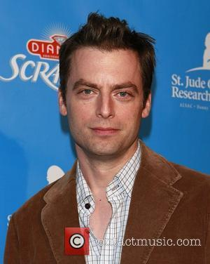 Justin Kirk Scrabble Under The Stars to benefit St Jude Research Hospital Goldstein Estate in Beverly Hills Los Angeles, California...