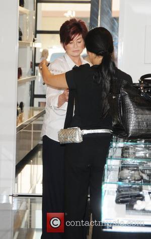 Sharon Osbourne shops in Chanel on Robertson Boulevard Los Angeles, California - 22.09.08