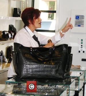 Sharon Osbourne  goes shopping for a handbag at Chanel. Los Angeles, Calforina - 22.09.08