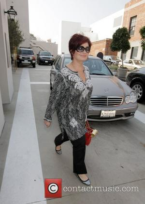 Sharon Osbourne parks in a red zone in order to be closer to a Beverly Hills boutique Los Angeles, California...