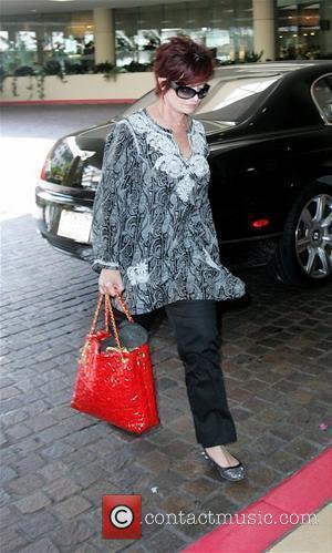 Sharon Osbourne enters the Beverly Hilton Hotel Los Angeles, California - 18.07.08