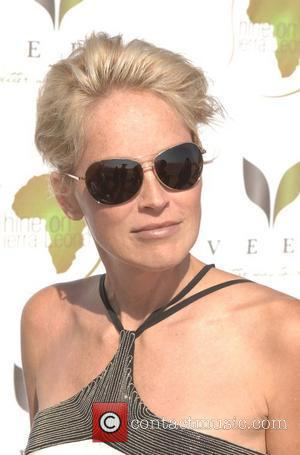 Sharon Stone 'Casino Royale' hosted by Shine on Sierra Leone held at a Private Residence Santa Monica, California - 14.09.08