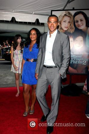 Jesse Williams at the world premiere of 'The Sisterhood of the Traveling Pants 2' at the Ziegfeld Theatre New York...