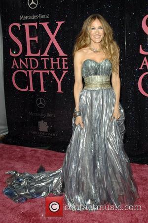 Sarah Jessica Parker and Lindsay Lohan