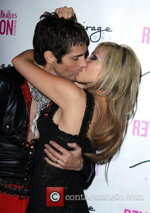 Perry Farrell and Etty Lau Slash's Birthday Concert at The Revolution Lounge at The Mirage Hotel - Arrivals Las Vegas,...