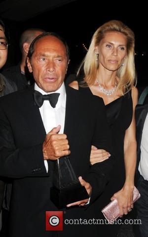 Paul Anka, Anna Yeager 39th Annual Songwriters Hall of Fame Ceremony at the Marriott Marquis Hotel - Departures New York...