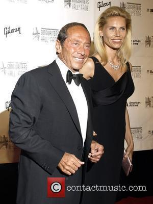 Paul Anka and Anna Yeager  39th Annual Songwriters Hall of Fame Ceremony at the Marriott Marquis Hotel - Arrivals...