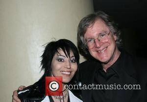 Joan Jett and inductee John Sebastian 39th Annual Songwriters Hall of Fame Ceremony at the Marriott Marquis Hotel - Cocktails...
