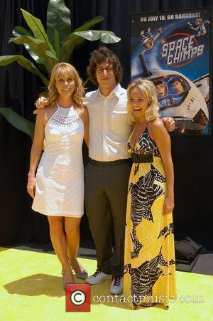 Cheryl Hines and Andy Samberg