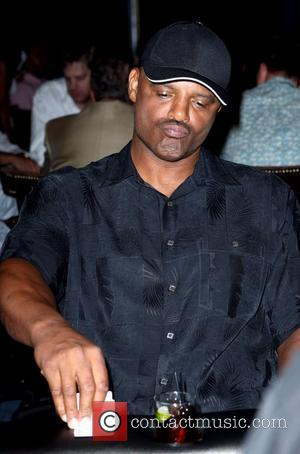 Warren Moon, Attends the Sports Dream Celebrity Poker Tournament Old School vs. New School at Hard Rock Hotel and Casino's...