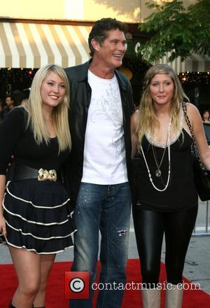 David Hasselhoff and Daughters