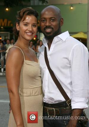 Romany Malco and guest Step Brothers Premiere- Arrivals held at Mann Village Theater Westwood, California - 15.07.08