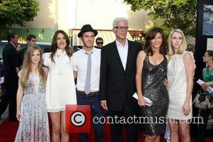 Ted Danson, Mary Steenbergen and Family