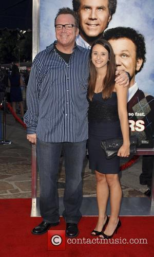 Tom Arnold and Lisa Wilhoit Step Brothers Premiere- Arrivals held at Mann Village Theater Westwood, California - 15.07.08