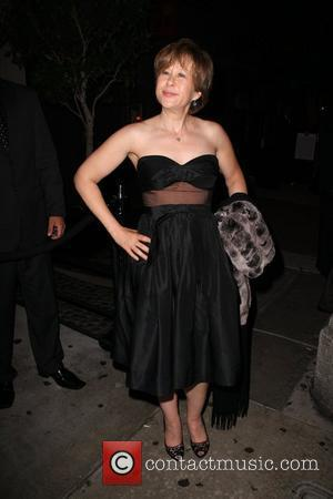 Yeardley Smith leaving the Comedy Central Emmy After Party at STK restaurant Los Angeles, California - 21.09.08